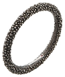 Roberto Coin Blackened Stingray Bangle Bracelet