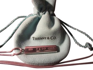 Tiffany & Co. 1837 Bar Pendant Necklace