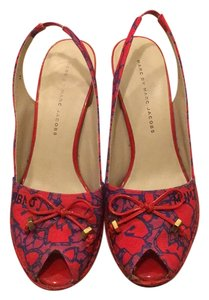Marc by Marc Jacobs Red multi Sandals