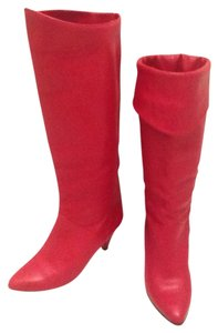 Biondini Red Boots