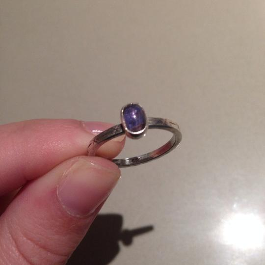 Other Natural Amethyst .925 Sterling Silver Ring