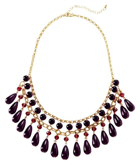 Preload https://item5.tradesy.com/images/olive-and-winnie-olive-and-winnie-detailed-dangle-beaded-necklace-set-goldpurple-974214-0-0.jpg?width=440&height=440