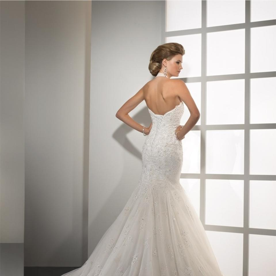 Maggie Sottero Lace Wedding Gown: Maggie Sottero Ivory Silk Satin Lace Midgley Tracey