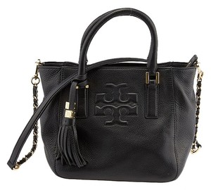 Tory Burch Mini Thea Tote in Black