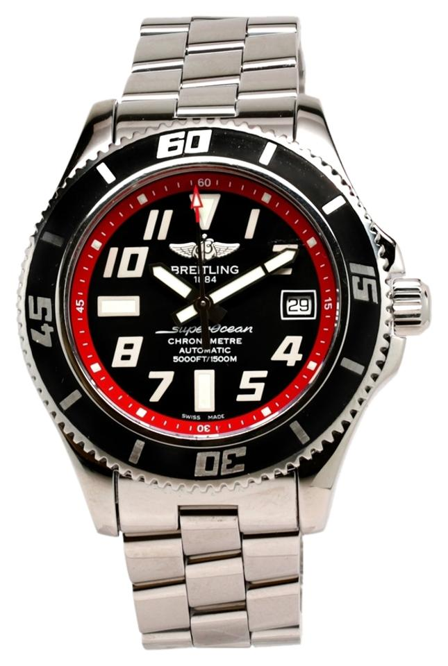 watch men com amazon heritage black dial dp s watches breitling superocean
