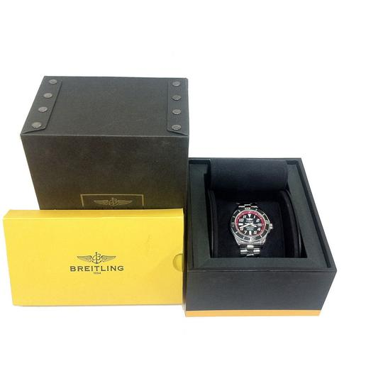 Breitling Breitling Superocean 42 Automatic Black/ Red Dial A1736402/BA31