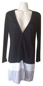 Ya Los Angeles Color-blocking Cardigan