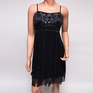 Sue Wong Sequined Beaded Frilly 1920's Dress