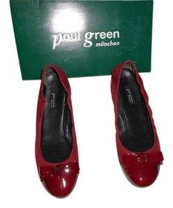 Paul Green Toe Cap Style Chianti Flats