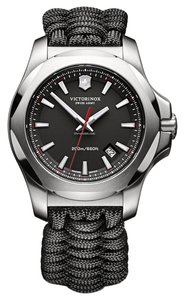 Victorinox Victorinox Swiss Army Men's INOX Silver Analog Watch 241726.1