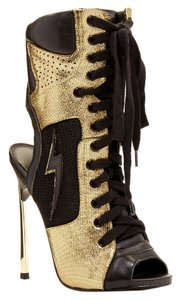 Lust For Life Black/ Gold Boots
