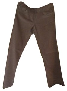 White House | Black Market Boot Cut Pants Tan/Beige