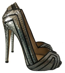 Chrissie Morris Gray Platforms