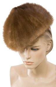 MINK FUR HAT BROWN MINK HAT