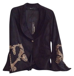 Union of Angels Cindy Bapst Black Blazer