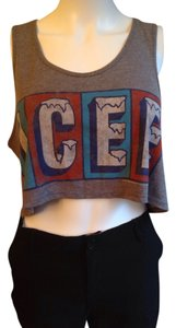 Forever 21 Top ICEE Grey
