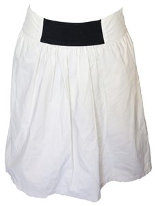 Zara Skirt White & Black