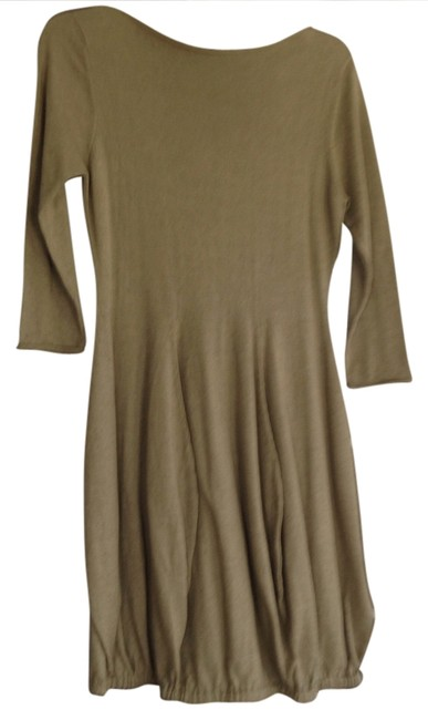 Item - Green ( Mossy ) Bubble Above Knee Short Casual Dress Size 4 (S)