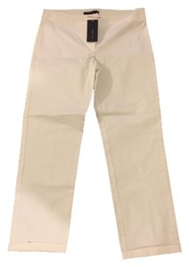 BCBGMAXAZRIA Straight Pants Off white
