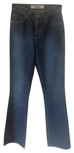 Mavi Jeans Designer Denim Flare Leg Jeans-Medium Wash