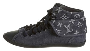 Louis Vuitton Monogram Denim Sneakers Athletic