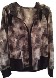 Vera Wang Top Black/white/grey
