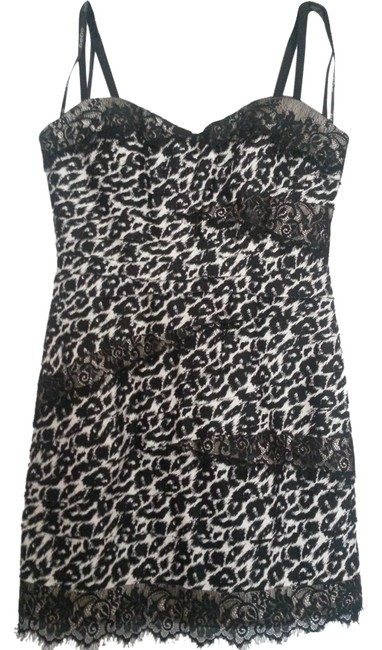 Preload https://item1.tradesy.com/images/bebe-leopard-lace-night-out-dress-leopard-black-white-974985-0-0.jpg?width=400&height=650