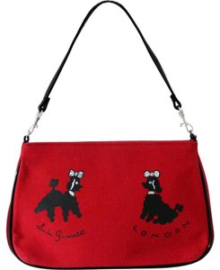 Lulu Guinness Red Clutch