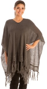 Free Shopping NEW' PONCHO BURGUNDY JP074