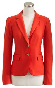 J.Crew Classic School Boy Golden Button New With A Tag Red Blazer