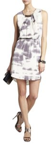 BCBGMAXAZRIA Satin Designer Tye Die New Dress