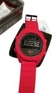 adidas Adidas Originals Santiago XL Digital Red Black Date Watch BRAND NEW WITH TAGS