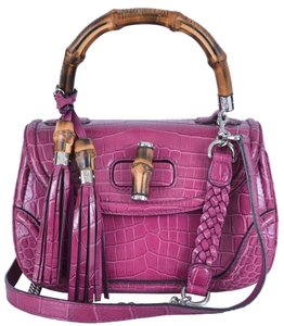 Gucci Handbag Handbag Crocodile Shoulder Bag