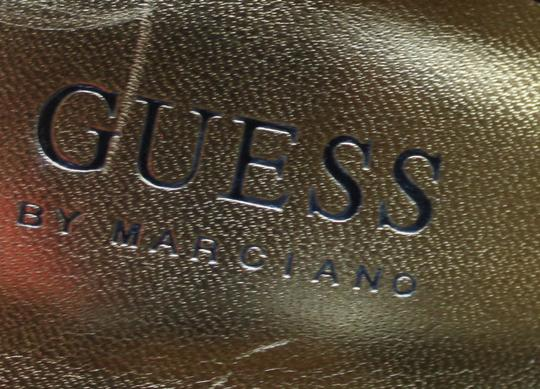 Guess By Marciano Peep Toe Slingback Black Pumps