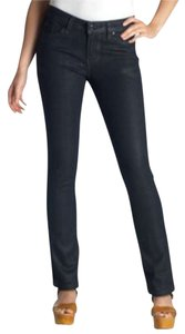 Levi's Skinny Leg. Belt Loops. Tags Are Missing. Slight Sheen Mid Rise Skinny Jeans-Dark Rinse
