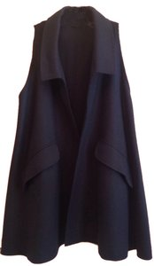 Fendi Vest Cashmere Wool Cape