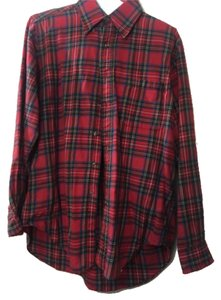 Brooks Brothers Button Down Shirt Red