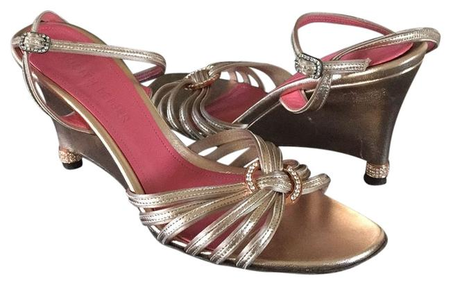 Item - Rose Gold Sandals Formal Shoes Size US 7 Regular (M, B)