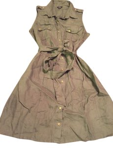 Guess short dress Olive green on Tradesy