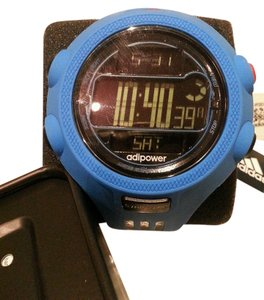 adidas ADIDAS AdiPower Diver Chrono Blue And Black Digital Unisex Watch New With Tag