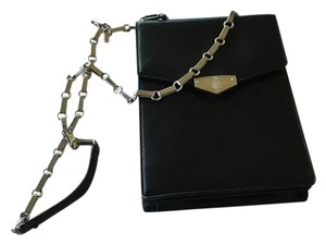 Mark Cross Leather Chain Museum Shoulder Bag