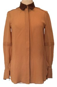 Belstaff Button Down Shirt Camel