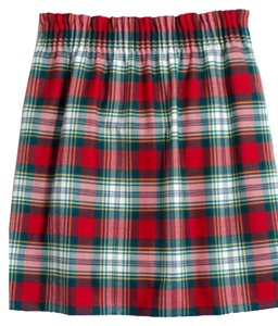 J.Crew Mini Skirt Plaid