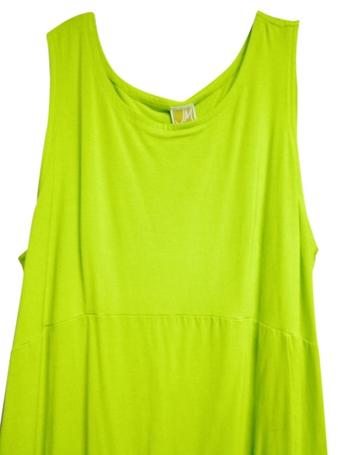 Preload https://item1.tradesy.com/images/jm-collection-comfort-lime-green-work-dress-975455-0-0.jpg?width=400&height=650