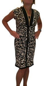 Nicole Miller Asian Style Spandex Medium Collection Dress