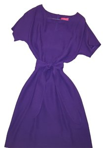 lavia short dress Purple Off Saks Fitted on Tradesy