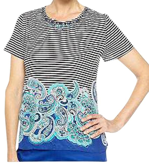 Preload https://item5.tradesy.com/images/alfred-dunner-multi-color-french-riviera-paisley-border-print-blouse-size-petite-10-m-975524-0-0.jpg?width=400&height=650
