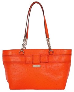 Kate Spade Rose Avenue Brigid Leather Handbag Tote in Valencia