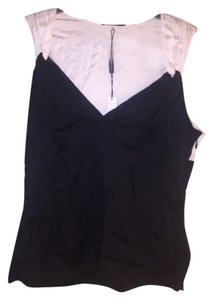 Elie Tahari Top Black and White