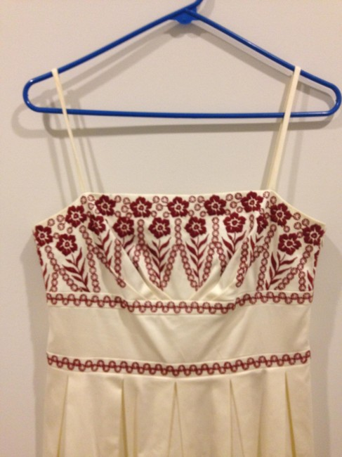 Ann Taylor Spring Embroidered Spring Embroidery Dress